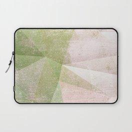 Frozen Geometry - Pink & Green Laptop Sleeve