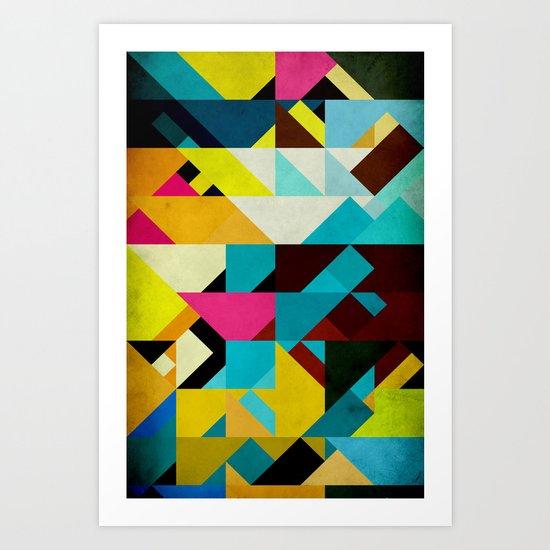 Colorful Game Art Print