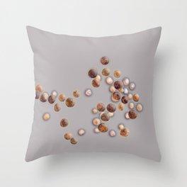 Dunaliella salina Throw Pillow