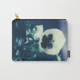 Pansy Bloom Carry-All Pouch