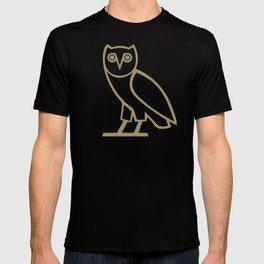 Classic Owl - Black T-shirt
