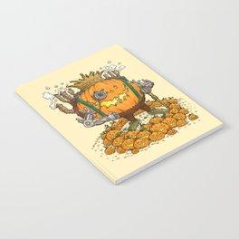 The Steampunk Pumpking Notebook