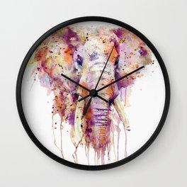 Elephant Head Wall Clock