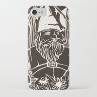 gnome iPhone & iPod Cases featuring Gnome by Aubree Eisenwinter