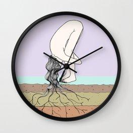 Enraizar-se Wall Clock