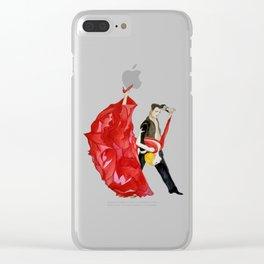 Tango (Watercolour) Clear iPhone Case