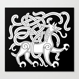 Mammen Style Ornament IV Canvas Print