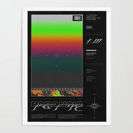 SHADES ⏤ PARANOIA Poster