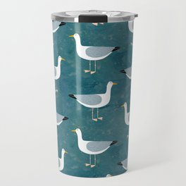 Seagull Standing Travel Mug