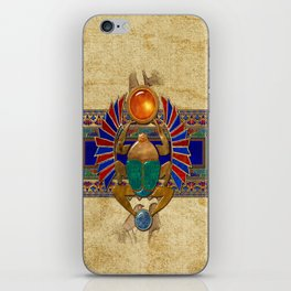Sarcophagus 3d Egyptian Folk Art iPhone Skin