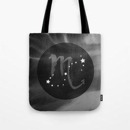 Scorpio Zodiac Watercolor Tote Bag
