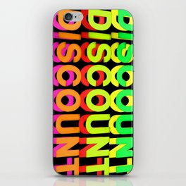 """""""Be Free Not Cheap"""" iPhone Skin"""