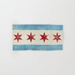 Chicago Flag Hand & Bath Towel