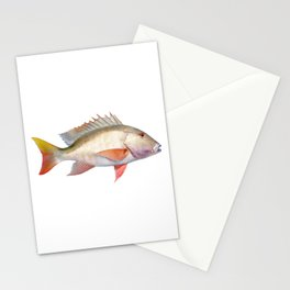 Mutton Snapper Stationery Cards