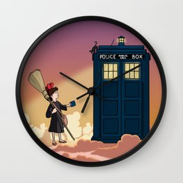 Doctor's Delivery Service Wall Clock