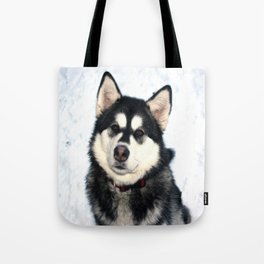Kayla the Alaskan Malamute Tote Bag