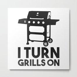 Barbecue Metal Print