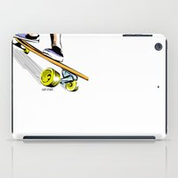 skate iPad Cases featuring skate by Cal ce tin
