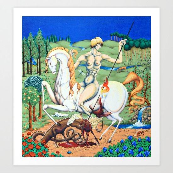 Myth Preserver Art Print
