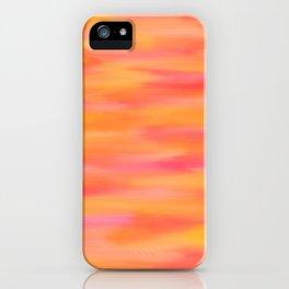 Orange Hues iPhone Case
