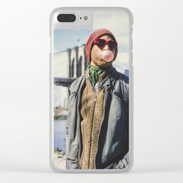 Keep it poppin' Clear iPhone Case