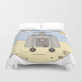 Pepelats. Russian science fiction. Duvet Cover