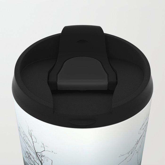 Smokey lake Metal Travel Mug