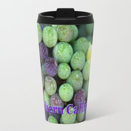Red grapes,Northern California and harvest time in Napa Travel Mug