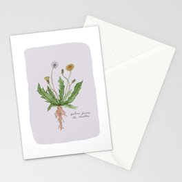 Fortune Favors the Relentless in Dusty Pink Stationery Cards
