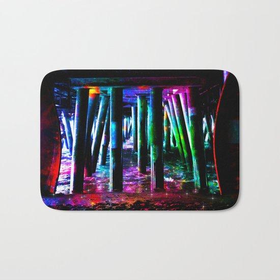 colorful pier Bath Mat