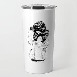 Anime Schoolgirl Travel Mug