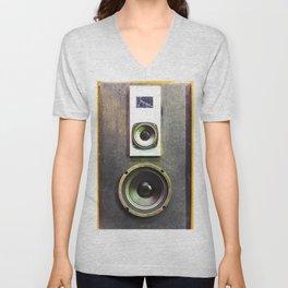 Vintage Retro Speaker Unisex V-Neck