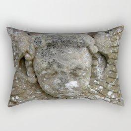 Stone Angel Rectangular Pillow