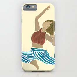 King of All Pigeon Pose iPhone Case