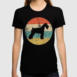 Schnauzer Vintage Retro Schnauzer Dog T-shirt