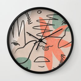 Deconstructed Wall Clock