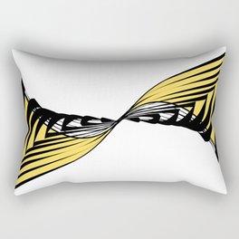Whirlpool inspired by nature- Wave disturbance Rectangular Pillow