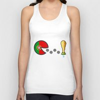 portugal Tank Tops featuring Portugal by onejyoo