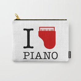 I Love Piano Carry-All Pouch