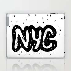 NYC lettering series: #1 Laptop & iPad Skin