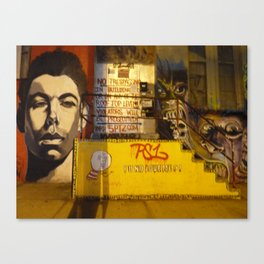 5 Pointz Graffiti in Hunters Point, LIC, NYC Canvas Print