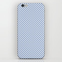 Ultramarine Polka Dots iPhone Skin