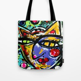 Wiggle Snickle Doodley Doo by Kathy Morton Stanion Tote Bag