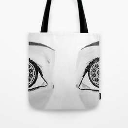 Oreo Eyes Tote Bag