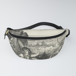 ALSACE LORRAINE Alsace oude poster Fanny Pack