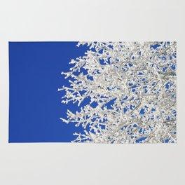 Frosty Tree Rug