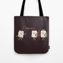 Turn Back Tote Bag
