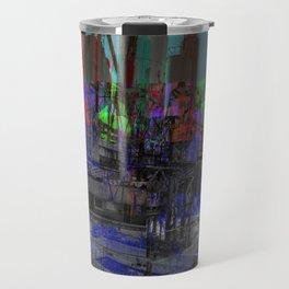 Refinery (Glitch) Travel Mug