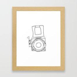 Hasselblad Camera Framed Art Print