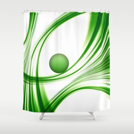 Green 113 Shower Curtain